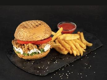 Crispy burger Combo
