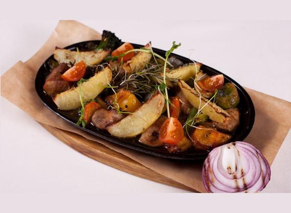 Pork with vegetables