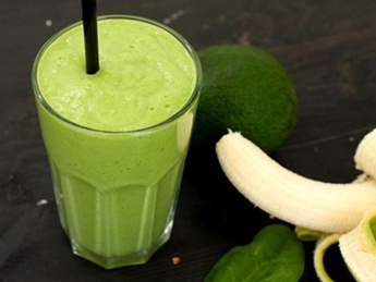 Smothie green banana