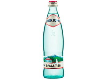 Carbonated mineral water Borjomi