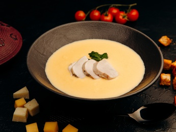Cheese&Chicken Soup