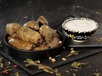 Dolma - Turkish cabbage rolls