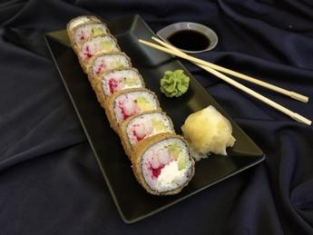 Tempura roll with shrimp