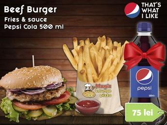 Combo Beef Burger