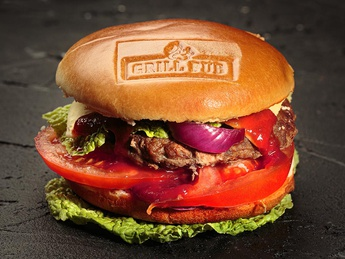 GRILL Burger with lamb