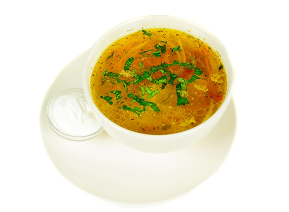 Moldovan Zeama (Chicken Soup)