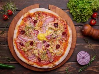 Pizza King of sun
