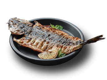 Grilled mackerel (10 servings)