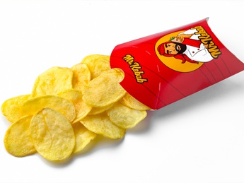 Potatoes maxi chips