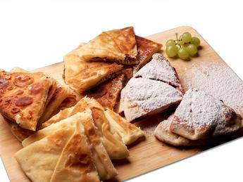Plăcintă with pumPlacinta with cabbage and mushrpkin