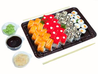 Sushi Platter Primavera