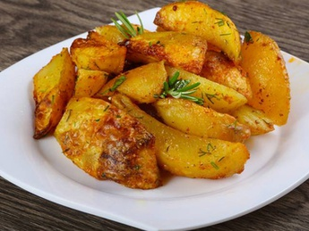 French fries wedges (1 serving)