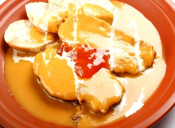 Svichkova in sour cream