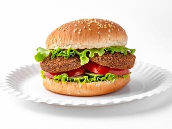Mr. Falafel Burger