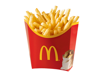 French fries - Medium portion