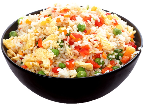 Steer Fry Rice with Vegetables