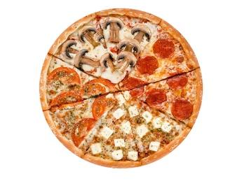 Pizza Four seasons - 25 cm