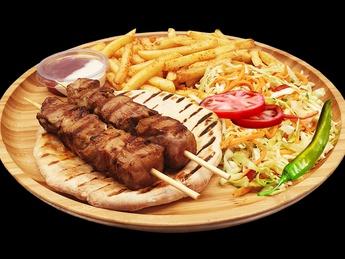 Pork kebab