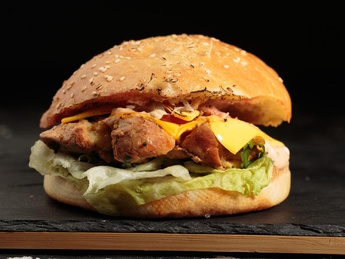 GRILL Burger with chicken