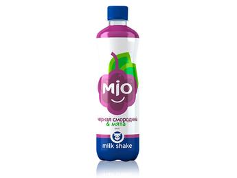 Mio blackcurrant & mint milk shake