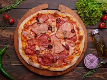 Pizza Meat Meat