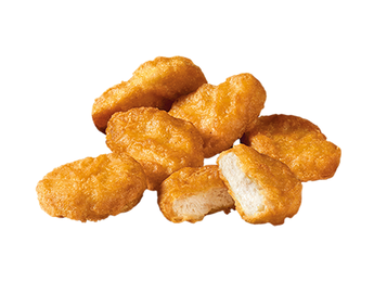 6 pieces McNuggets