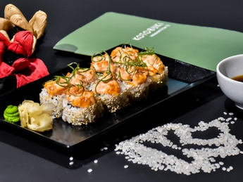 Spicy with Salmon