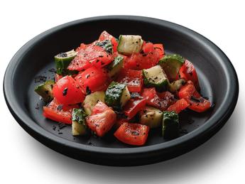 Vegetable Salad with Basil