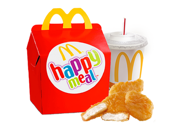 Happy Meal cu McNuggets