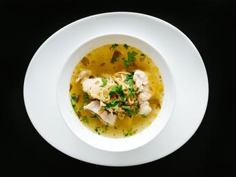 Moldavian traditional chiken soup