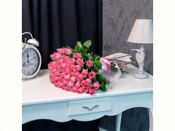Pink roses 40-60 cm