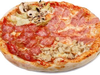 Pizza large Quattro Stagioni