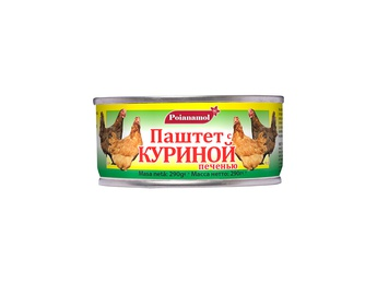 POIANAMOL Pate with bird liver 290g