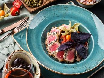Sicilian-style tuna