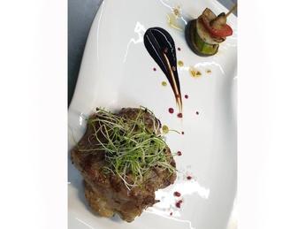 Steak din porc cu legume