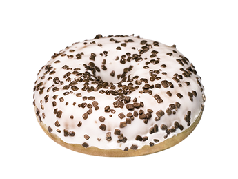 Donut cu vanilie
