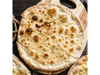 Pizza Focaccia with parmesan