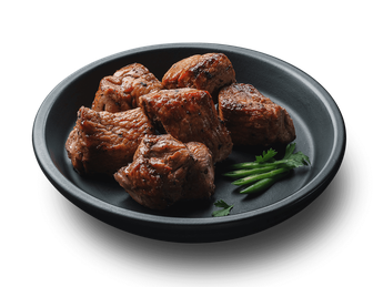Veal barbeque with tomato sauce  (1 serving)