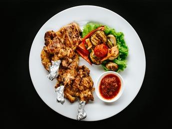 Chicken on the bone in turkish