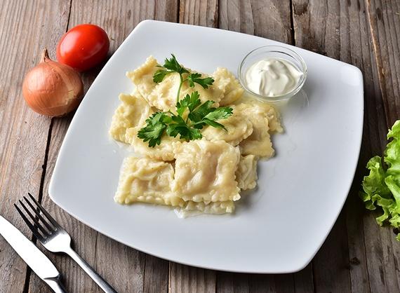 Raviolli cu brânză