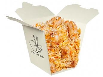 Rice with pork