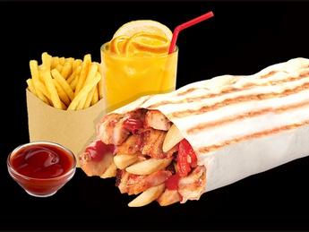 Combo chicken kebab