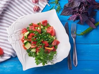 Home-made salad
