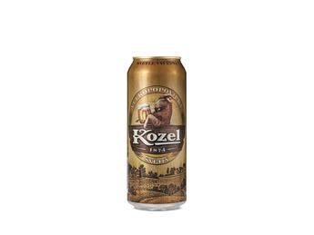 Beer lager  V.Kozel Svetly 0.5l (can)