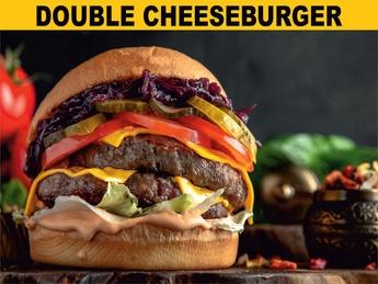 Double cheese бургер