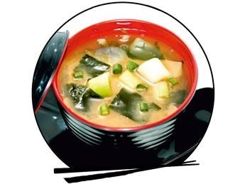 Miso soup kaysen