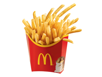 French fries - Large portion
