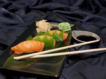 Nigiri with Salmon