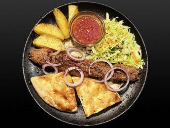 Lula-kebab of lamb