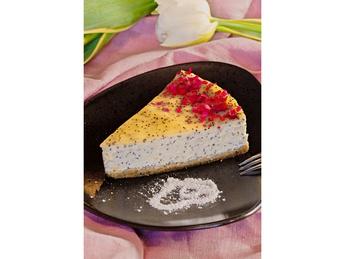 Lime Poppy Cheesecake